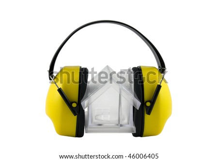 Protection against noise. Clipping path included