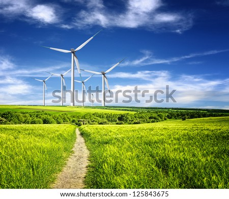 Protection of nature - stock photo