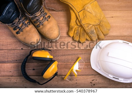 Protective equipment use work industry #540378967