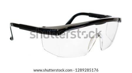 Protective workwear to protect human eyes, safety glasses