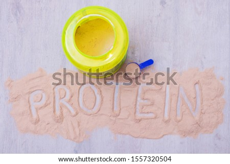 protein or nutritional supplement for athletes #1557320504