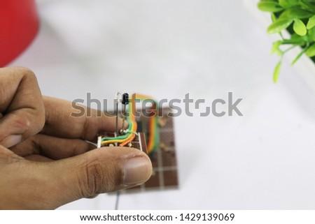Proximity Sensor Infrared ray circuit   #1429139069
