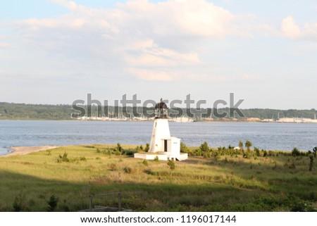 Prudence Island Lighthouse  Photo stock ©