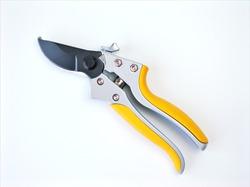 Pruning scissors stainless steel isolated on white background ,garden scissors