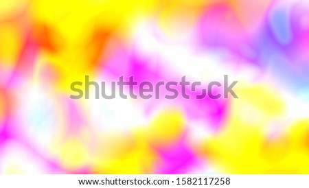 Psychedelic Ink Blob Bubble Shape Splotches Merging and Splitting - Abstract Background Texture