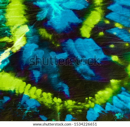 Psychedelic Swirl. Creative Neon Template. Multicolor Neon Flow Vibrant. Violet Vibrant Oil slick Texture. Iridescent Blue Tie Dye. Shibori. Sunny Yellow Ikat Shape Print.