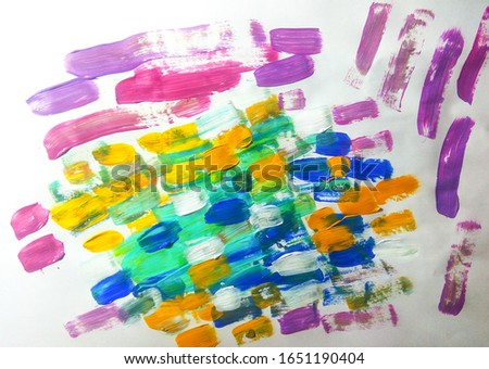 Psychedelic Tie Dye Spiral. Acrylic Brushes. Water-Colour Paper.  Colourful Paint Colors Abstract. Colored Color Wall Grunge. Crystals Illustration.