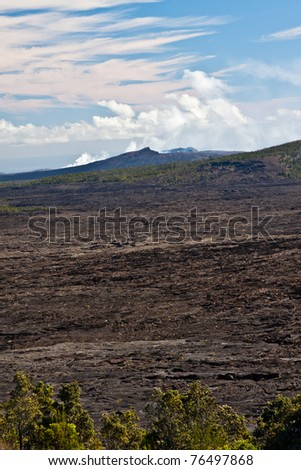 Pu'u 'O'o Vent in Hawaii Volcanoes National Park
