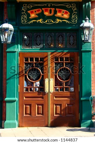 pub doorway