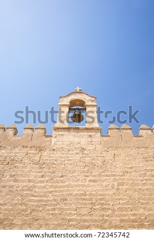 public acces castle of Almeria city in Andalusia Spain