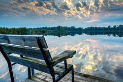Public Boat Landing Little Moon Lake, Barron County WI