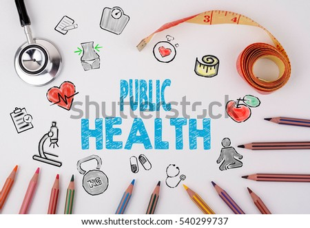 Public Health concept. Healty lifestyle background
