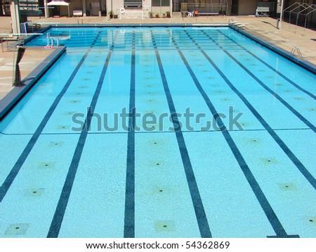 public olympic sized pool