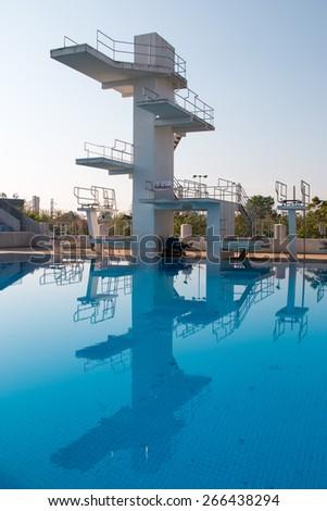 Public plunge pool