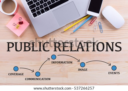 Photo of  PUBLIC RELATIONS MILESTONES CONCEPT