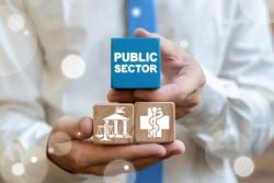Public Sector Municipal City Housing Service Concept.