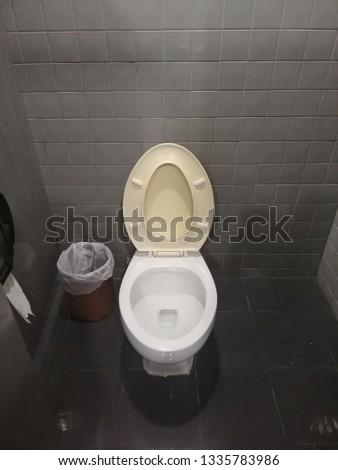 Public toilet in an public building.