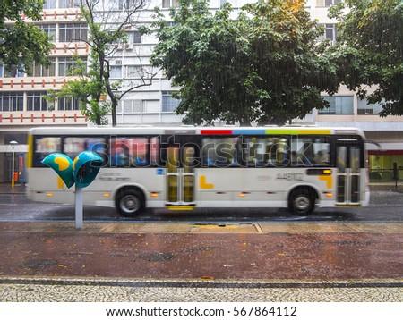 Public transport in Rio de Janeiro, Brazil