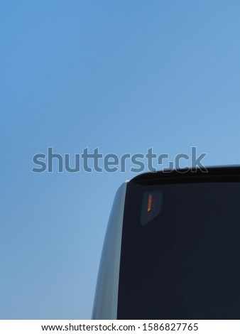 public transportation bus, turn left top flash illuminated light #1586827765