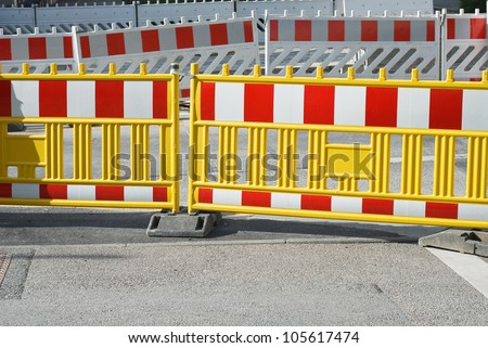 Public Transportation Urban Renewal with Pedestrian Barrier