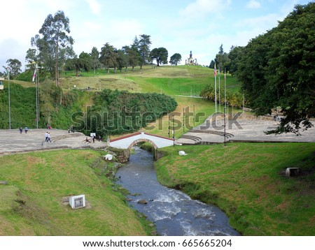 Shutterstock Puente de Boyaca, the site of the famous Battle of Boyaca where the army of Simon Bolivar, with the help of the British Legion, secured the independence of Colombia