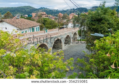 Shutterstock Puente Roto (Broken Bridge) in Cuenca, Ecuador