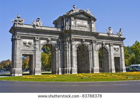 Puerta de Alcala,Madrid, Spain