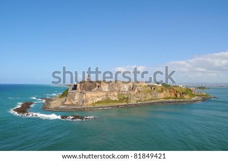 Puerto Rico, San Felipe del Morro Fort.