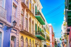 Puerto Rico. San Juan. Caribbean.