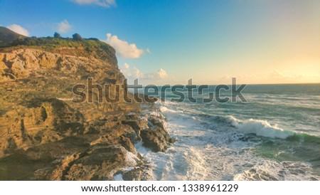 PUHA BEACH CLIFFS Stock fotó ©