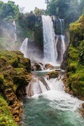 Pulhapanzak waterfall in Honduras