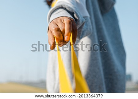 Pull on the leash of the relationship. Be an abuser. An unbreakable bond. Stock photo ©