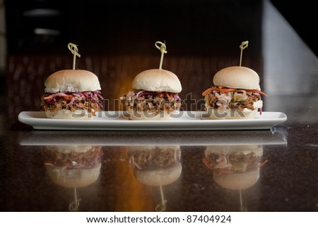 Pulled Pork Mini Sandwiches