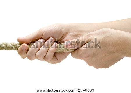 Pulling Near - stock photo