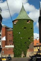 Pulvertornis or Powder Tower- part of the defensive system medieval town, Riga, Latvia
