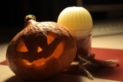 Pumpkin is an indispensable Halloween attribute. The holiday is celebrated on the night of October 31 to November 1, on the eve of All Saints Day.