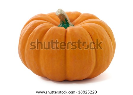 Pumpkin isolated.