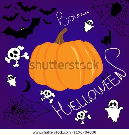 Pumpkin on Helloween