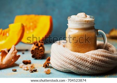 pumpkin spiced latte or coffee...