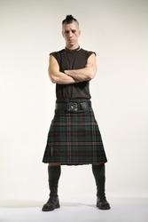 punk fashion man