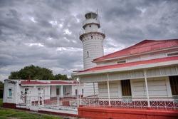 Punta Malabrigo Lighthouse, Lobo, Batangas, Philippines.
