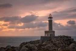 Punta Nariga lighthouse in Galicia