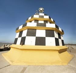 Punta Sabbioni lighthouse,Venice,Italy  28 February from Punta Sabbioni lighthouse