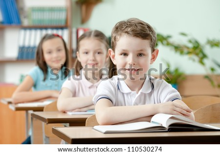 Pupils are very attentive at lessons. They listen to every word of teacher