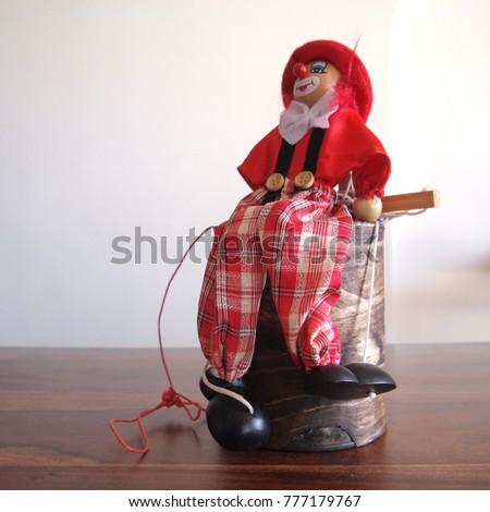 puppet icon sitting #777179767