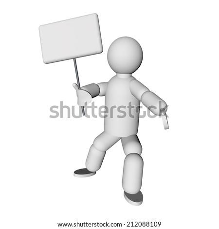 stock-photo-puppet-with-empty-cartel-in-hand-d-render-212088109.jpg