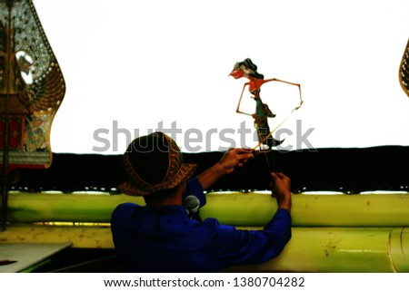 Puppeteer of the shadow puppets #1380704282