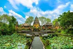 Pura Taman Saraswati temple. Ubud. Bali. Indonesia.