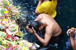 Pura Tirta Empul Temple - Water Temple In Ubud, Bali, Indonesia
