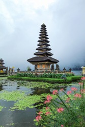 Pura Ulan Danu Beratan is a large water temple in Bali - Indonesia. The other main water temples are Ulun Danu Batur Temple.